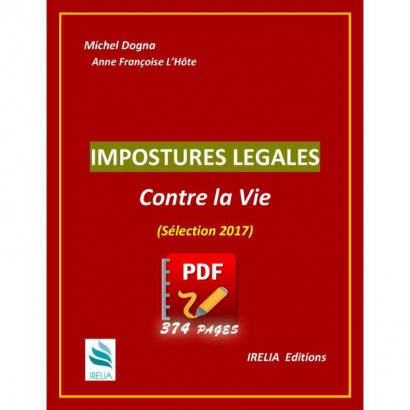 Ebook : Impostures légales contre la Vie. Format PDF- 374 pages